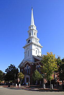 Historic North Church, Portsmouth, New Hampshire, New England, United States of America, North America