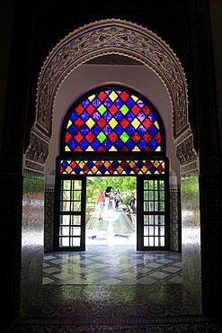 Bahia Palace, UNESCO World Heritage Site, Marrakesh, Marrakech, Morocco, North Africa
