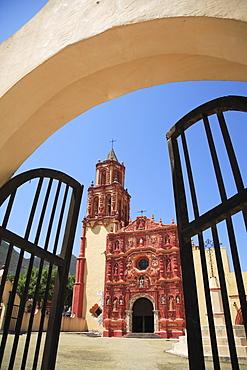 Landa Mission, UNESCO World Heritage Site, one of five Sierra Gorda missions designed by Franciscan Fray Junipero Serra, QuerŽtaro, Mexico, North America