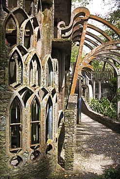 Las Pozas (the Pools), surrealist sculpture garden and architecture created by Edward James an eccentric English aristocrat, Xilitla, San Luis Potosi state, Mexico, North America