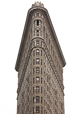 Flatiron Building, Fifth Avenue and Broadway, Manhattan, New York City, New York, United States of America, North America
