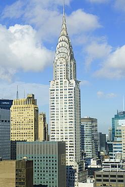 The Chrysler Building, Manhattan, New York City, New York, United States of America, North America