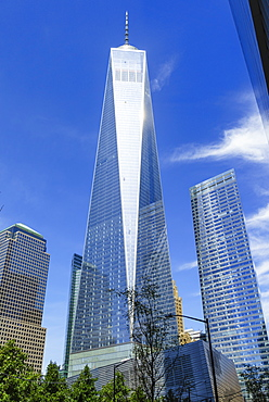 One World Trade Center, Lower Manhattan, New York City, New York, United States of America, North America
