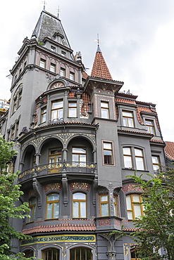 Old Jewish Quarter, Josefov, Prague, Czech Republic, Europe