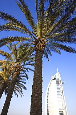 Burj Al Arab Hotel, Jumeirah Beach, Dubai, United Arab Emirates, Middle East