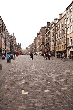 Royal Mile, The Old Town, Edinburgh, Scotland, United Kingdom, Europe