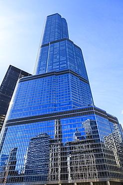 Trump Tower, Chicago, Illinois, United States of America, North America