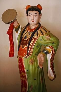 Mazu sea goddess in Thian Hock Keng Taoist temple, Singapore, Southeast Asia, Asia