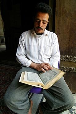 Koran reading, Cairo, Egypt, North Africa