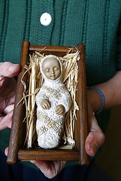 Infant Jesus, Saint Gervais, Haute Savoie, France, Europe