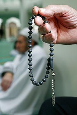 Prayer beads, Lyon, Rhone, France, Europe