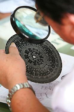 Fortuneteller, Wat Pho temple, Bangkok, Thailand, Southeast Asia, Asia