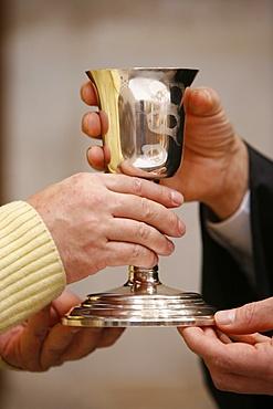 Protestant Communion, Paris, Ile de France, France, Europe