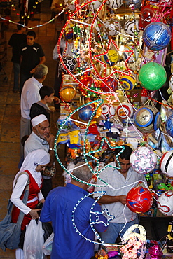 Ramadan in Old City, Jerusalem, Israel, Middle East