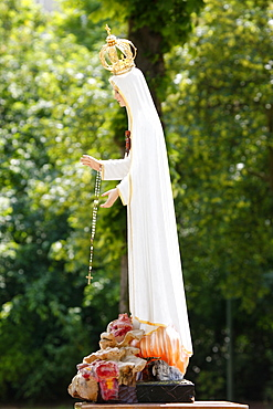 Fatima Virgin statue, Paris, France, Europe