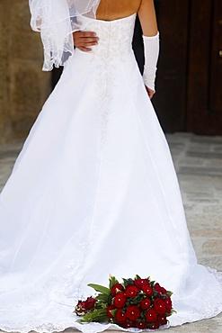 Bride, Corigliano d'Otra, Lecce, Italy, Europe