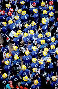 Makuya procession in Jerusalem, Israel, Middle East