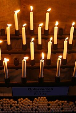 Oil candles, Switzerland, Europe