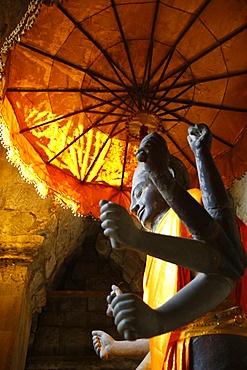 Vishnu statue, Angkor Wat, Angkor, UNESCO World Heritage Site, Siem Reap, Cambodia, Indochina, Southeast Asia, Asia