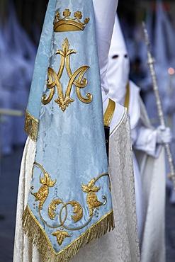 Easter week procession, Malaga, Andalucia, Spain, Europe