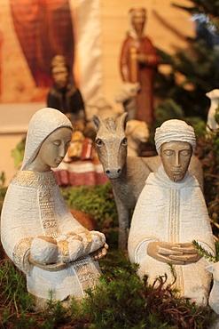 Nativity scene, Paris, France, Europe