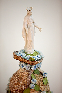 Our Lady of Lebanon statue in Maronite church, Lome, Togo, West Africa, Africa