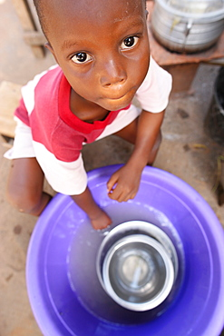 Water, Lome, Togo, West Africa, Africa