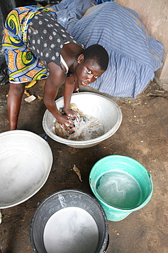 Laundry, Lome, Togo, West Africa, Africa