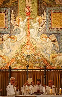 Catholic mass, Annecy, Haute Savoie, France, Europe