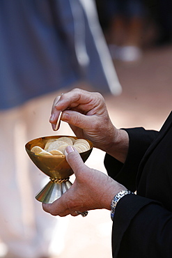 Holy Communion, Les Sauvages, Rhone, France, Europe