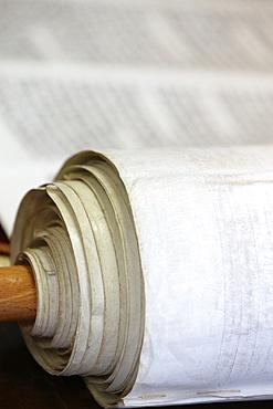 Jewish Torah scroll, Paris, France, Europe