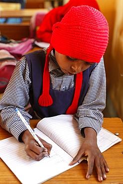 Sandipani Muni high school pupil, Vrindavan, Uttar Pradesh, India, Asia