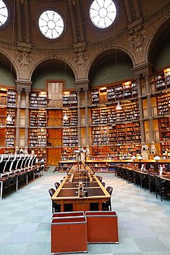 The National Library of France, Paris, France, Europe