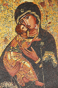 Virgin and Child, Basilica of the Annunciation, Nazareth, Galilee, Israel, Middle East