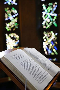 Bible, Notre-Dame de Fatima Church, Paris, France, Europe