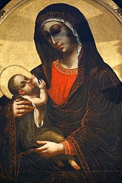 Virgin and Child, Heiligenkreuz Abbey, Lower Austria, Austria, Europe