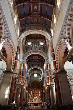 Notre Dame de Brebieres basilica, Albert, Somme, France, Europe