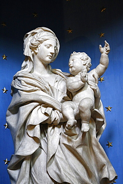 Virgin and Child, Paris, France, Europe