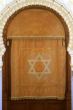 Holy Ark curtain, Edmond J Safra Grand Choral Synagogue, St. Petersburg, Russia, Europe