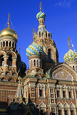 Church of our Saviour on Spilled Blood (Church of Resurrection), St. Petersburg, Russia, Europe
