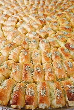 Ramadan pastries, Jerusalem, Israel, Middle East