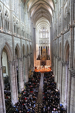 Bishop Olivier Leborgne, Bishop of the Diocese of Amiens, Episcopal ordination, Amiens Cathedral, UNESCO World Heritage Site, Picardy, France, Europe