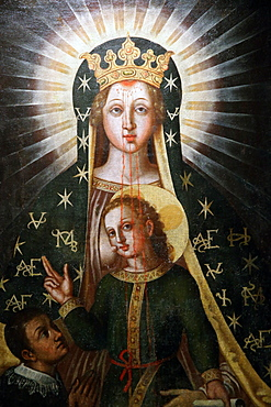 Madonna del Sangue (Our Lady of the Blood), Basilica of the Madonna del Sangue, Re, Piedmont, Italy, Europe