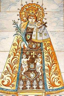 Spanish Virgin, Annunciation Basilica, Nazareth, Galilee, Israel, Middle East