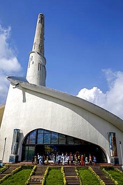 Our Lady of Africa Catholic Sanctuary, Abidjan, Ivory Coast, West Africa, Africa