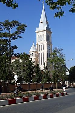 Saint Nicholas Cathedral, Dalat, Vietnam, Indochina, Southeast Asia, Asia