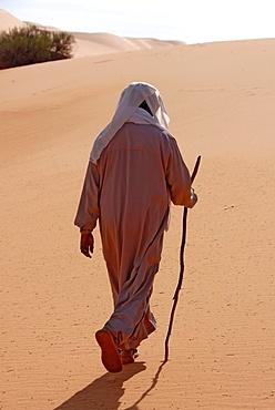 Muslim pilgrim, Sebha, Ubari, Libya, North Africa, Africa