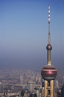 Pearl Tower, Shanghai, China, Asia