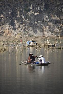 Fisherwomen, Ninh Binh, Vietnam, Indochina, Southeast Asia, Asia