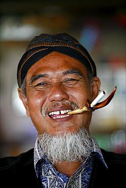 Portrait of a Javanese, Java, Indonesia, Southeast Asia, Asia